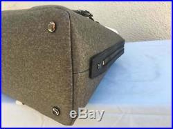 Tumi womans grey stanton Janet Domed Satchel laptop shoulder Hand Bag 0734400EG
