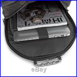 USB Bluetooth Speaker Mens Womens Backpack Laptop Notebook Travel School Bag 35L