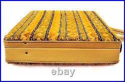 VTG PRINCESS GRACE CASE TAPESTRY CARPET BAG Brief Case Computer Laptop Notebook