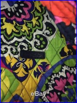 Vera Bradley RIO LARGE DUFFEL Bag LAPTOP BACKPACK New