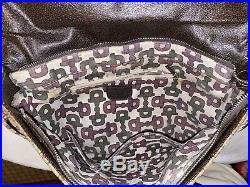Vintage Gucci Authentic Monogram Canvas Messenger Laptop Crossbody Bag Ophidia