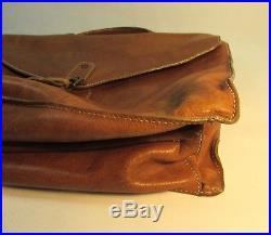 Vintage Mulberry soft leather briefcase bag laptop satchel case Men's or Women's