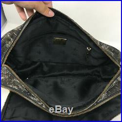 Vivienne Westwood Womens Purse Animal Canvas Travel Laptop Crossbody CarryOn Bag