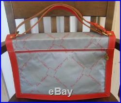 Vtg Hartmann Luggage Gloria Vanderbilt Briefcase Laptop Messenger Bag 1980s RARE