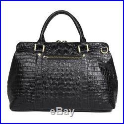 Women Real Leather Handbag 13 Laptop Attache Case Shoulder Messenger Sling Bag