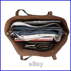 Women's Ladies Multi Handbag Real Leather Shoulder Bag Shopping tote Laptop Case
