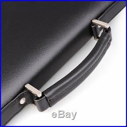 Womens Briefcase Attache Case Mens Laptop Messenger Bag Leather Lawyer / Wallet