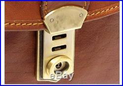 Womens Lawyer Mens Messenger Bag Attache Case Wallet Leather Laptop Briefcase