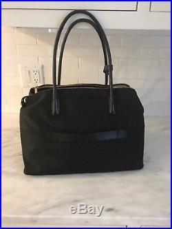 Womens Tumi Nylon Laptop Bag- Black