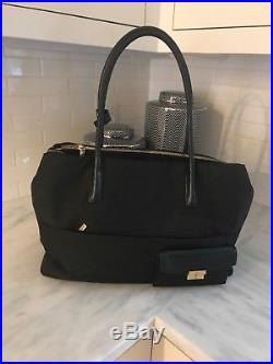 Womens Tumi Nylon Laptop Bag- Black with gold detail